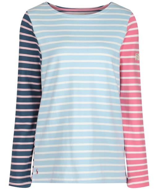 Women's Joules Harbour Top - Blue / Cream Stripe