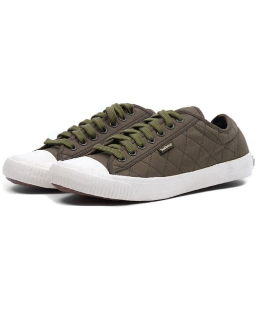 Men's Barbour Centurion Sneakers - Olive