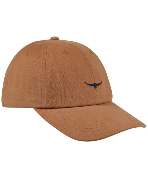 Men's R.M Williams Mini Longhorn Cap - Brown / Navy