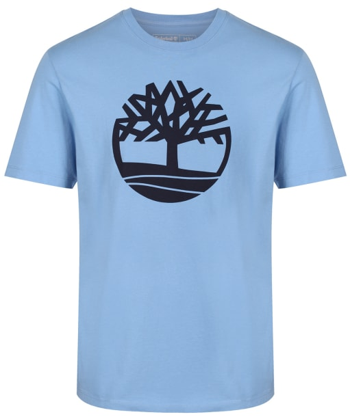 Men's Timberland Kennebec River Brand Tree Tee - Silver Lake Blue