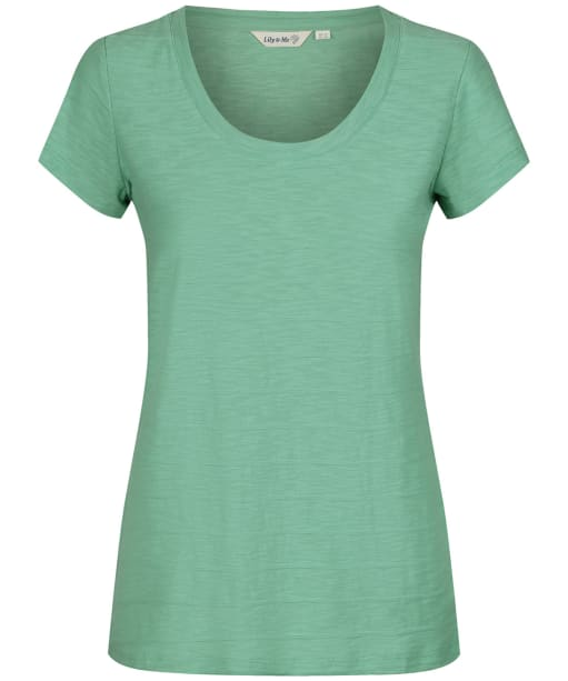 Women's Lily & Me Cockles Tee - Apple