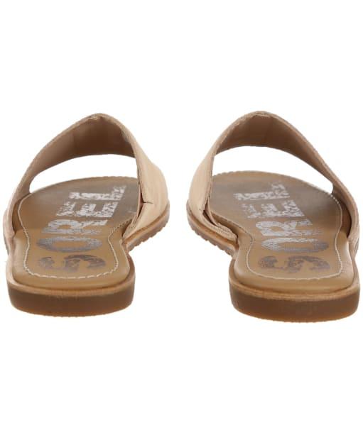 Women's Sorel Ella Block Slide Sandals - Natural Tan