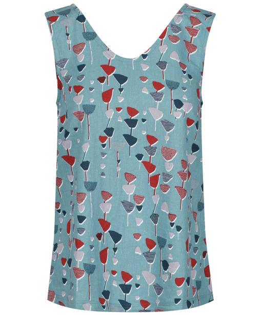 Women's Lily & Me Wildflower Vest - Light Teal