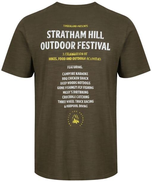 Men's Timberland Sawyer River Outdoor Festival T-Shirt - Grape Leaf