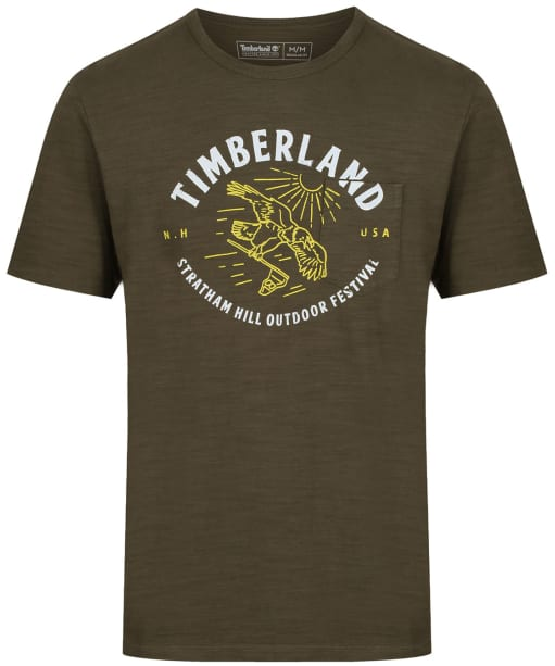 Men's Timberland Sawyer River Outdoor Festival T-Shirt - Grape Leaf