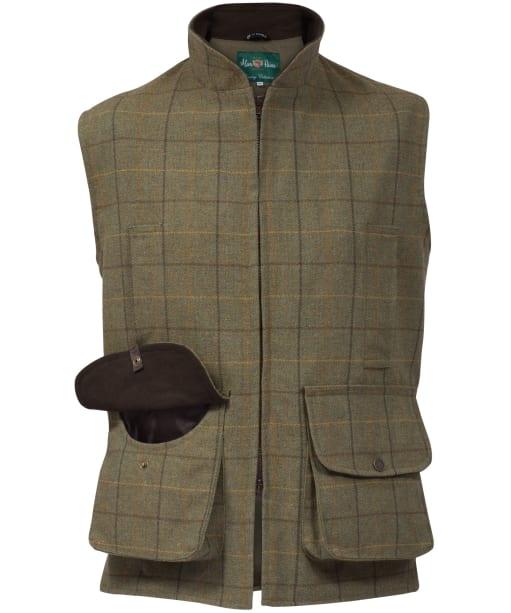 Men's Alan Paine Rutland Waistcoat - Dark Moss