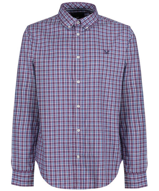 Men's Crew Clothing Milliom Pinpoint Shirt - Lavender / Blue