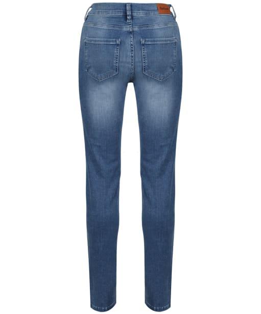 Women's Barbour Essential Slim Jeans - 70s Blue