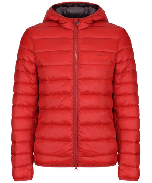 Men's Barbour Trawl Quilted Jacket - Iron Ore