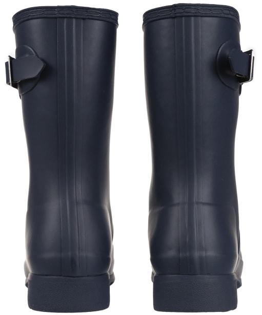 Women's Hunter Original Tour Short Wellington Boots - Navy