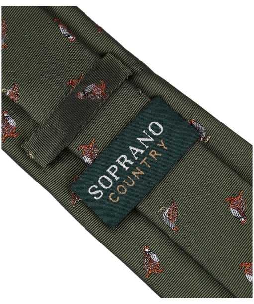 Men's Soprano Partridge Tie - Green
