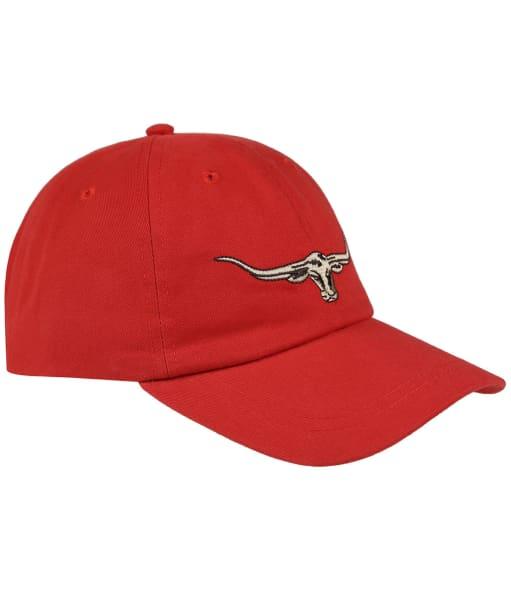 Men's R.M. Williams Steer's Head Cap - Red
