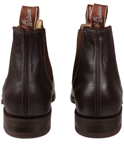 R.M. Williams Classic Craftsman Boots - Yearling leather, classic leather sole - H (Wide) Fit - Chestnut