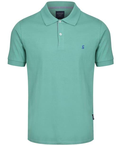 Men's Joules Jersey Polo Shirt - Green