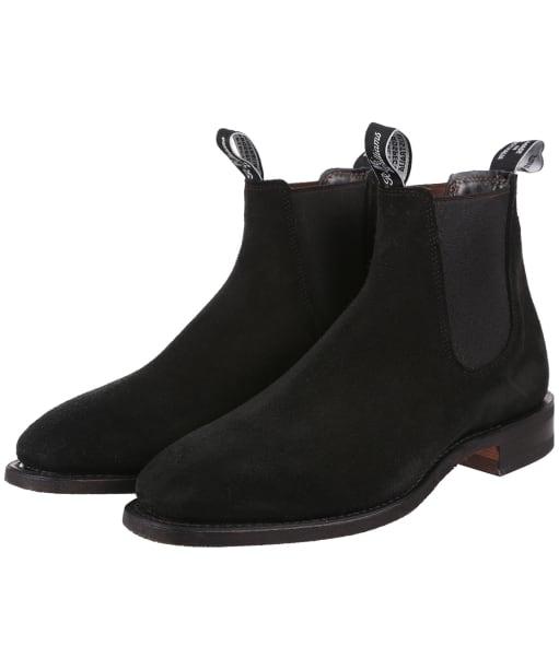 Rmw Suede Comfort H - Black
