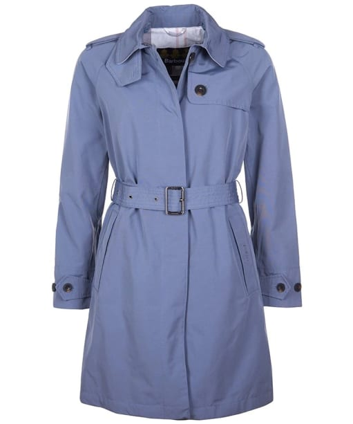 Women's Barbour Inglis Waterproof Jacket - Slate Blue