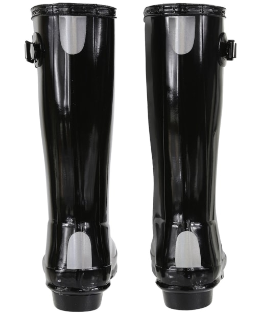 Hunter Original Kids Gloss Wellington Boots, 12-4 - Black