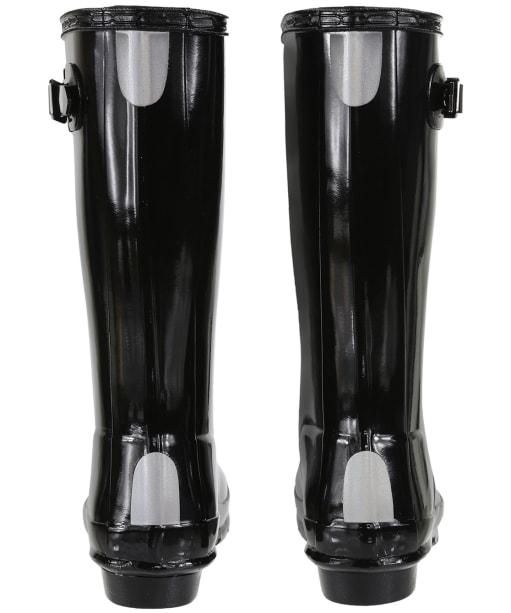Hunter Original Kids Gloss Wellington Boots, 7-11 - Black