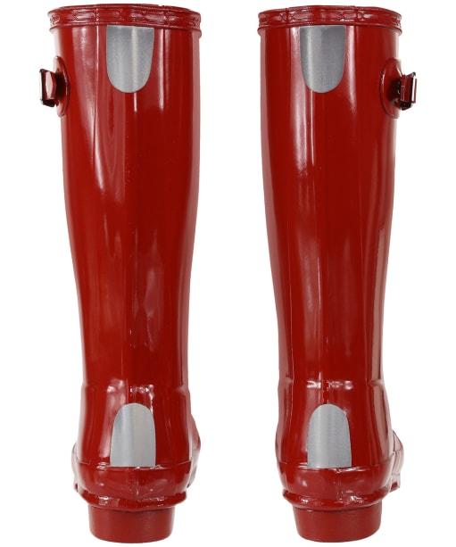 Hunter Original Kids Gloss Wellington Boots, 12-4 - Military Red
