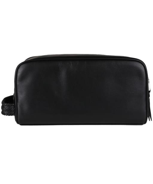 R.M. Williams City Leather Washbag - Black