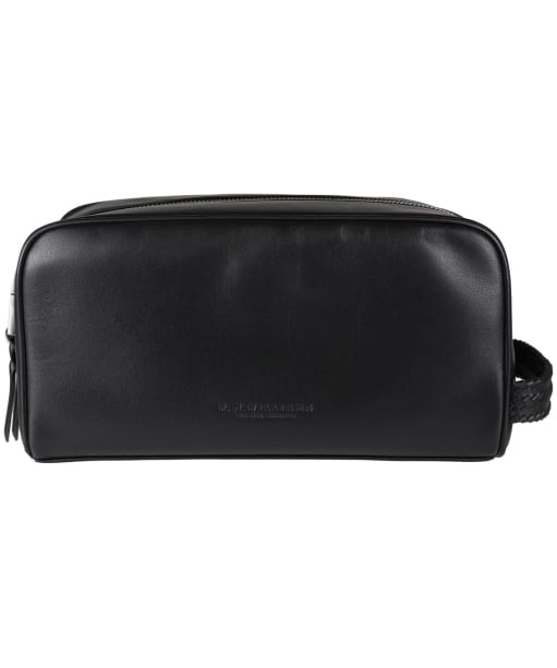 R.M. Williams City Leather Washbag - Black