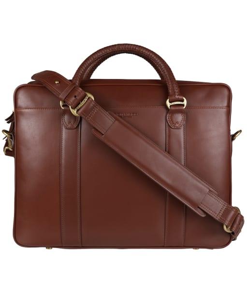 R.M. Williams City Briefcase - Chestnut
