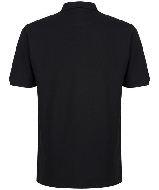 Men's R.M. Williams Classic Rod Polo Shirt - Black