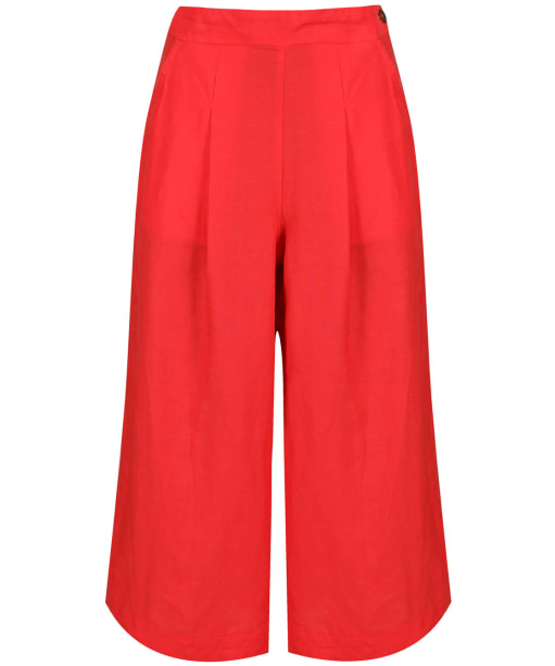 Women's Joules Alexi Solid Fluid Culottes - Poppy