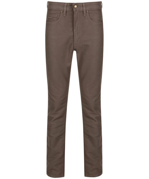 Men's R.M. Williams Ramco Moleskin Jeans - Taupe