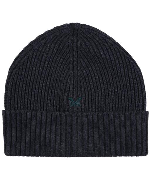 Men's Crew Logo Beanie Hat - Charcoal
