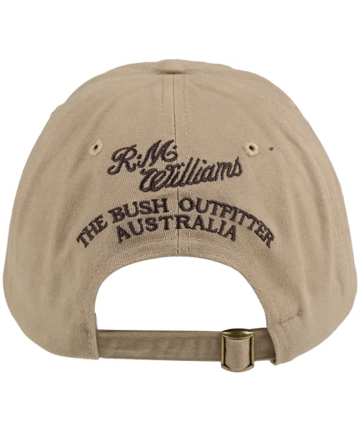 Men's R.M. Williams Steer's Head Cap - Buckskin