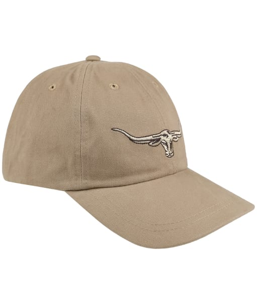 Men's R.M. Williams Steer's Head Cap - Buckskin