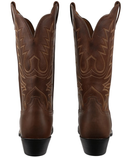 Women's Ariat Heritage Western Boots - Distressed Brown