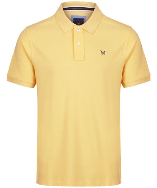 Men's Crew Clothing Classic Pique Polo Shirt - Haze Marl
