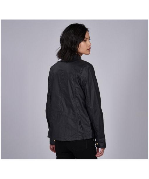 Women's Barbour International Thunderbolt Casual Jacket - Black