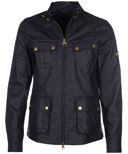 Women's Barbour International Thunderbolt Casual Jacket - Black