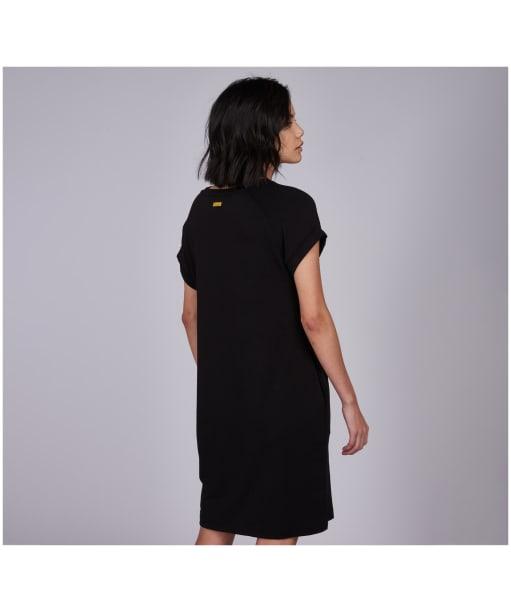 Women's Barbour International Hurricane Dress - Black