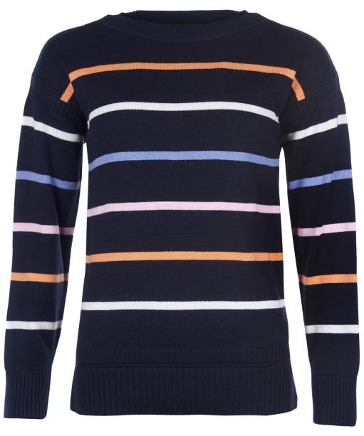 Women's Barbour Marine Knit Sweater - Navy