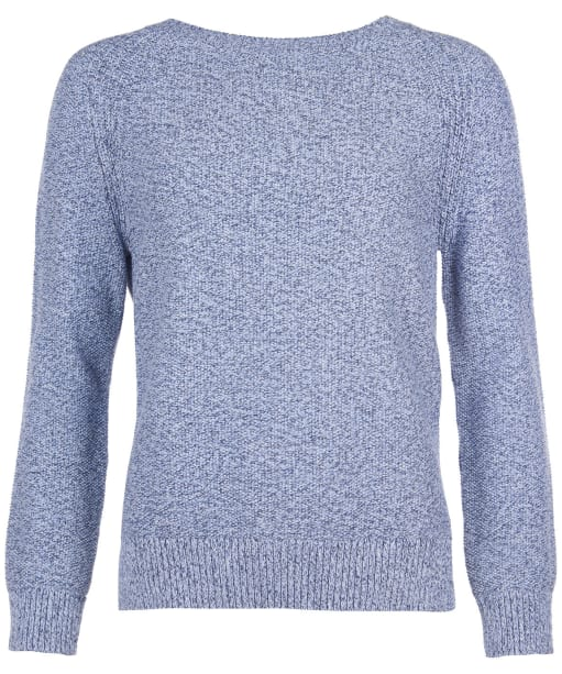Women's Barbour Shoreline Knit Sweater - Blue Mix
