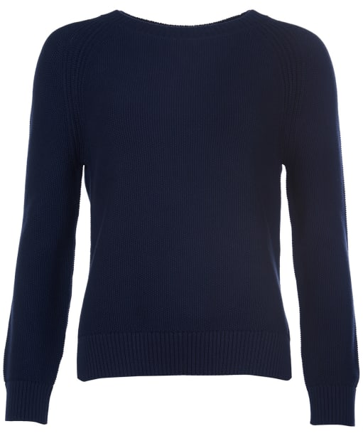 Women's Barbour Shoreline Knit Sweater - Navy