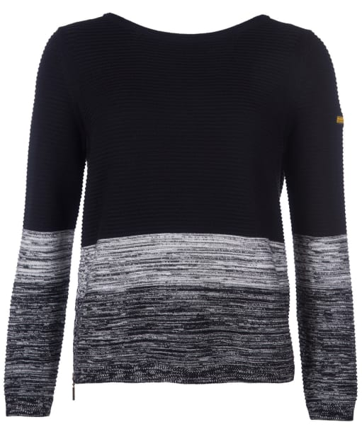 Women's Barbour International Thunderbolt Knit - Black
