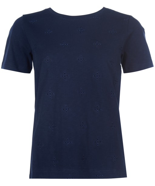 Women's Barbour Mersey Tee - Navy