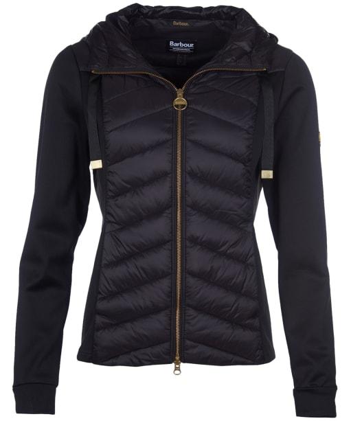 Women's Barbour International Spitfire Sweater - Black