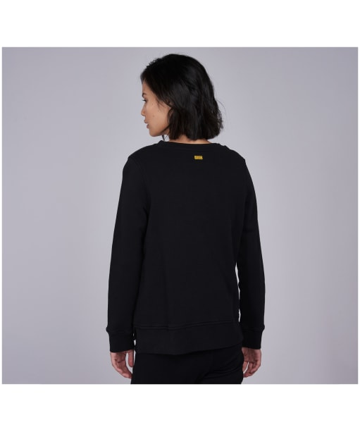 Women's Barbour International Interceptor Overlayer - Black