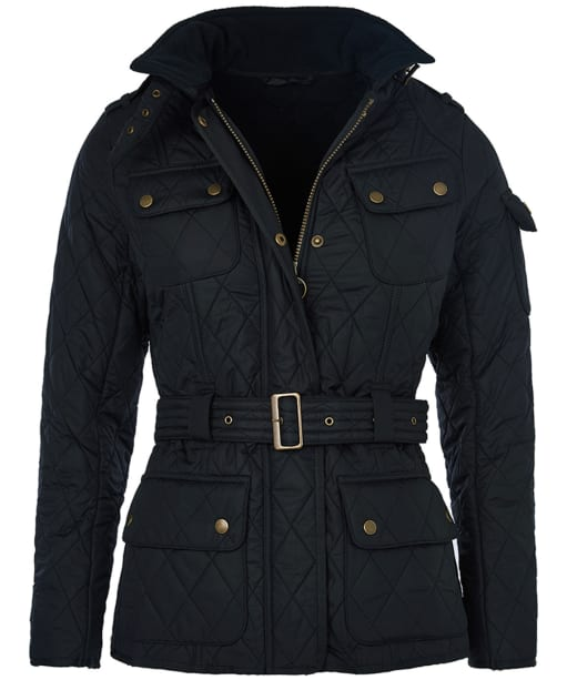 Women's Barbour International Tourer Polarquilt Jacket - Navy