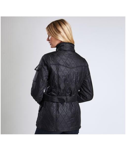 Women's Barbour International Polarquilt - Black