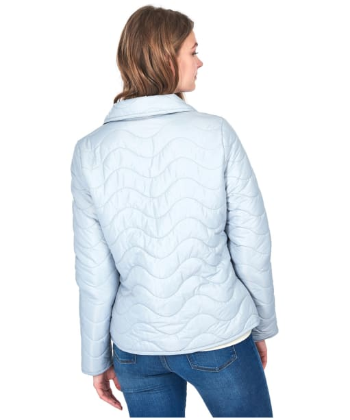 Women's Barbour Albatross Quilted Jacket - Gray Dawn
