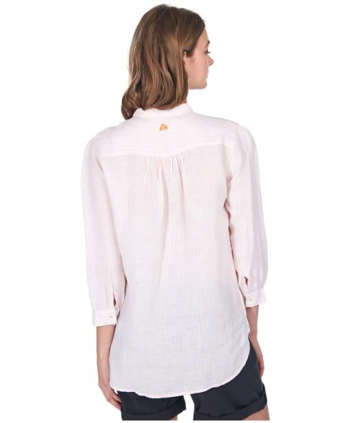 Women's Barbour Dover Shirt - PINK SUR STRIPE