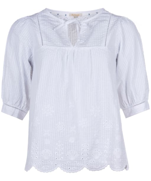 Women's Barbour Filey Top - White