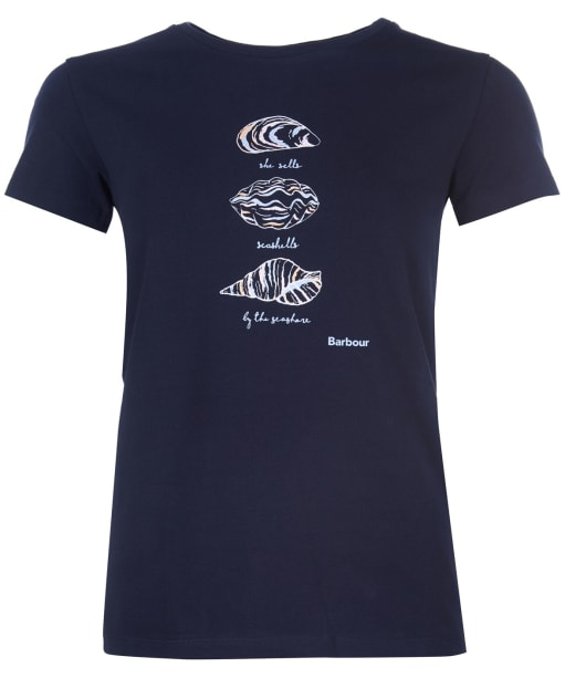Women's Barbour Seaford Tee - Navy